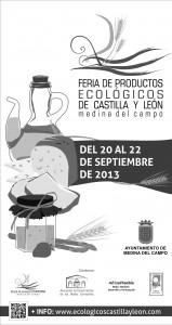cartel feria productos ecologicos