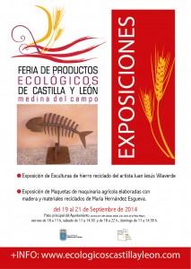 cartel exposiciones Feria Ecológicas