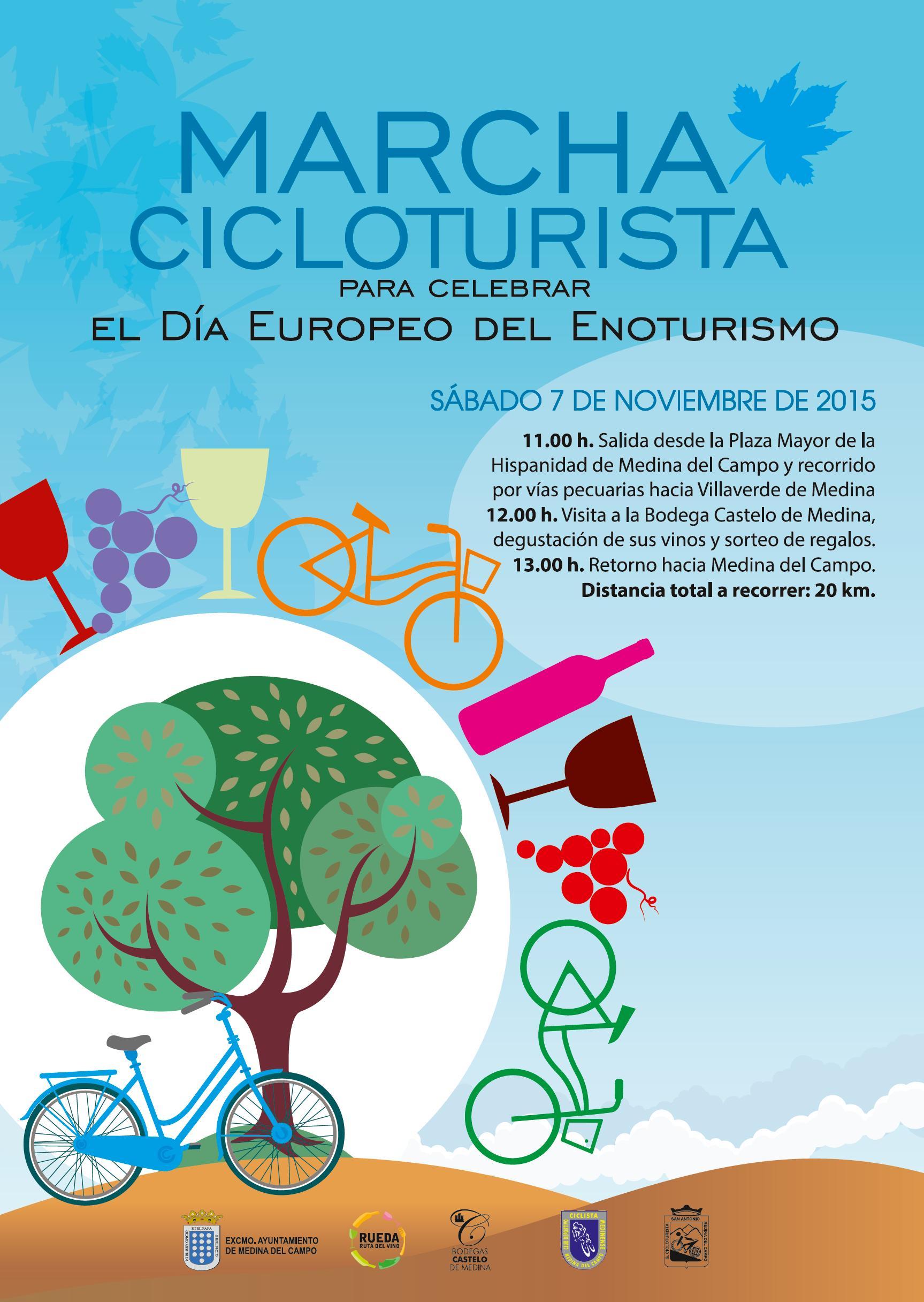 Marcha cicloturista día enoturismo 2015