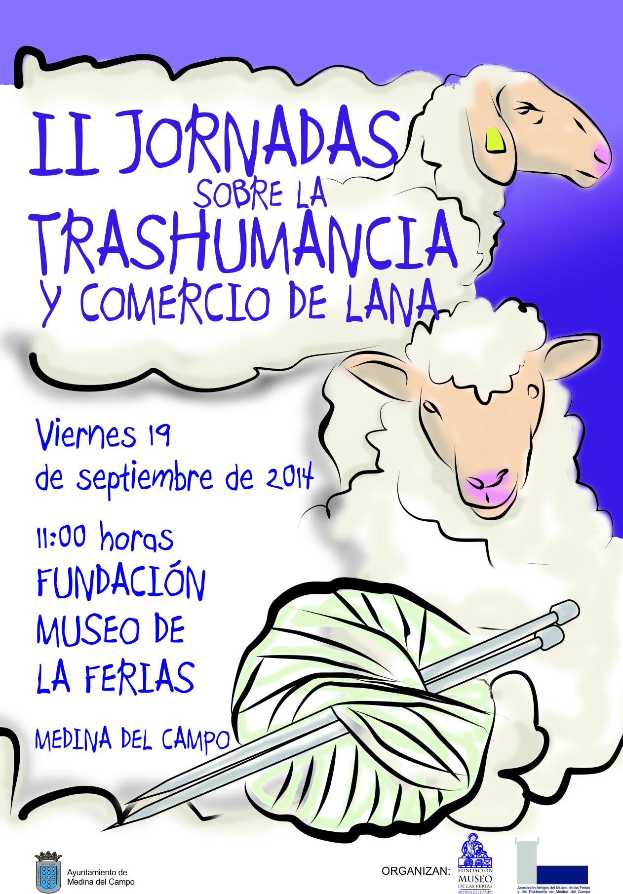 cartel JORNADAS trashumancia